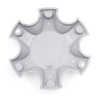 Granite Alloy 6-Lug Silver Wheel Center Cap 89-0901-SG