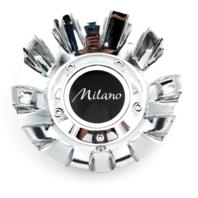 Milano Chrome Aftermarket Wheel Center Cap Part# COP76D