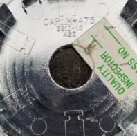 ASA Dream Technology Black Wheel Center Cap Part# CAPM-475