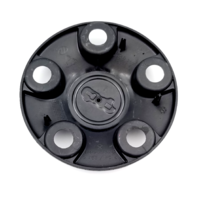 "Jeep Wrangler 2015-2019 OEM 16"" Black Wheel Center Cap Part# 1AH90TRMAD"
