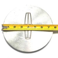 "Lincoln Wheel Center Hub Cap 7.5"" OD Machined 1995-1998 Continental YW13-1A096"