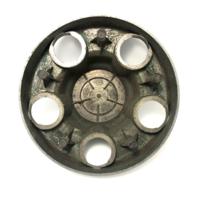"GMC 15"" Wheel Center Hub Cap 6.75"" OD Chrome for 1988-1999 Savanna Sierra Yukon"