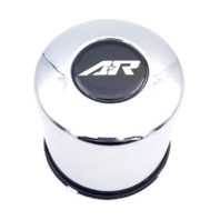 American Racing Chrome Push Thru Wheel Center Cap Part# 1425002R