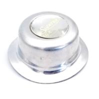 "Superior Custom Polished Aluminum Bolt On Wheel Center Hub Cap 7"" Diameter"