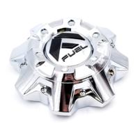 Fuel Off-Road Chrome 8 Lug Wheel Center Cap fits D513 Throttle Part# 1002-40