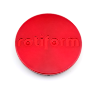 Rotiform Candy Red SnapIn Wheel Center Cap for R109 R108 R149WGR R775CVT R795DVO