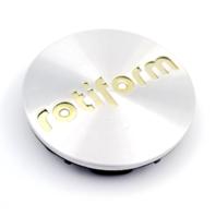 Rotiform Machined Silver Wheel Center Cap for R110BLQ, R135CCV, R138KPS, R120SPF