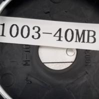 """Rotiform Matte Black Wheel Center Hub Cap 2.36"""" Snap In 1003-40MB"""