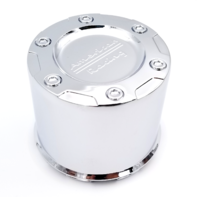 American Racing Chrome Snap In 5x135 & 6x135 Wheel Center Cap for AX1084 Crater