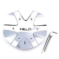 Helo Chrome Bolt On Center Cap for HE891 Style Wheels Part# T110L183-CH
