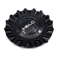 Helo Gloss Black Bolt On Center Cap fits HE913 Style Wheels Part# HE913CAP-GB