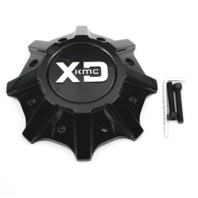 KMC XD Gloss Black 8x165.10 Wheel Center Cap for XD838 Mammoth T148L215-H48-S1