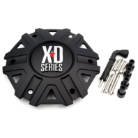KMC XD Satin Black Center Cap fits all XD822 Monster II Wheels Part# M-959SB