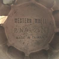 "E-T by Western Wheel Center Hub Cap 3"" OD Chrome Push Thru 99-2576"