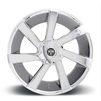 """DUB Wheels S132 Directa 20"""" 5/6 Lug Chrome Wheel Center Cap P/N 26110-35"""