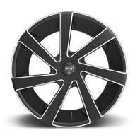 DUB Wheels Directa-S133 5/6 Lug Matte Black Wheel Center Cap P/N: S179L181A