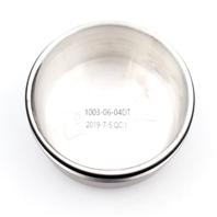 DUB Wheel Baller S116 5 Lug 24 x 10 Black Machined Wheel Center Cap 1003-06-04DT