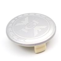 "TGF Aftermarket Silver Snap In Wheel Center Cap OD 2.93"""