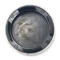 """Keystone Cragar Wheel Center Hub Cap 3"""" OD Snap In Machined w/ Black & Gold Logo"""