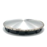 """Keystone Cragar Wheel Center Hub Cap 6.5"""" OD Machined Disc Snap In 083633 083634"""