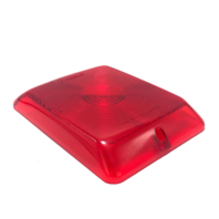 Reese Red Plastic Trailer Tailgate Lens 84/85 Series Tail Lights 31-84-010