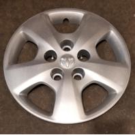 "2010-2012 OEM Dodge Caliber Silver 15"" Hubcap Wheel Cover Part # 05151424AA"