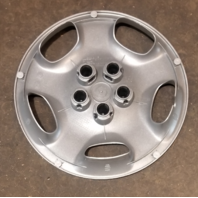 """2000-2002 OEM Dodge Neon 14"""" Silver Hubcap Wheel Cover Part# 04656191AE"""