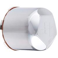 Helo Chrome Push Thru 8 Lug Only Center Cap for HE791 MAXX Part# 791B142L