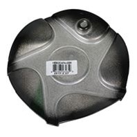 Helo Gloss Black/Machined 5 Lug Center Cap Fits HE902 Wheels Part# HE902CAPA-GBM