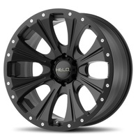 Helo Bolt On Satin Black 6x5.5 Center Cap for HE897 HE901 Wheels 1079L145HE1SB