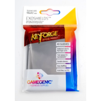 KeyForge: Exoshields Tournament Sleeves (40) by GameGen!c Sleeve Size 66x92mm