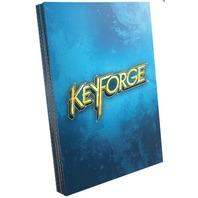 KeyForge: Logo Sleeves - Blue (40) Game Genic Sleeve Size 66x92mm