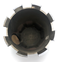 "E-T Western Wheel Center Hub Cap 3.27"" Chrome Push Thru Plastic 99-2579"