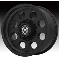 American Racing ATX Push Thru Satin Black 8 Lug Wheel Center Cap 1515006925