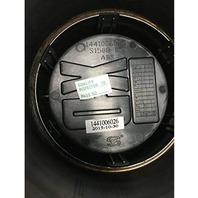 KMC XD Satin Black 5 Lug Push Thru Center Cap XD301 Turbine Wheels P/N1441006026