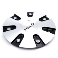 Helo Machined and Black Center Cap fits HE868 Wheels Part# 868L185BAL