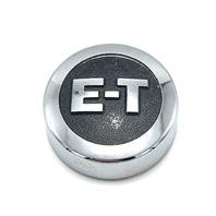 "E-T Mag Wheel Center Hub Cap 2.75"" OD Bolt On Vintage Chrome B-3000"