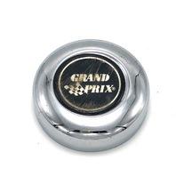 "Grand Prix Wheel Center Hub Cap Bolt On 3"" Chrome Metal 80501 898042T"