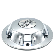 "American Racing Wheel Center Hub Cap Chrome 8"" OD HC635 1635200010"