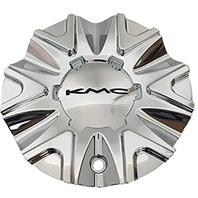 KMC Chrome Bolt On Center Cap fits all 678 Splinter Wheels Part# 497L178