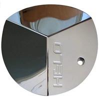 "Helo Chrome Bolt On 20"" Center Cap for HE357 Wheels Part# 821L160"