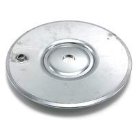 """True Spoke Wheel Center Hub Cap 7.25"""" Diameter Bolt On Chrome"""