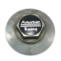 "American Racing Wheel Center Cap Hex Chrome 6.25"" OD Snap In 89-9040"