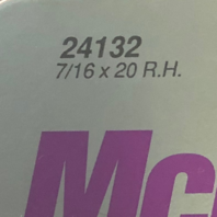 McGard Wheel Locks Set of 4 + Key 7/16 x 20 RH Chrome Acorn Bulge 24132