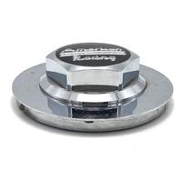 """American Racing Wheel Center Hub Cap 6"""" Diameter Chrome Hex Snap In 89-9079"""