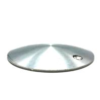 "Wheel Center Hub Cap 7.25"" Diameter Bolt On Machined Aluminum"