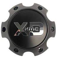 KMC XD Satin Black 6x5.5 Bolt On Center Cap for XD203 XD200 XD818 Wheels