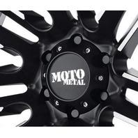 Moto Metal Matte Black 6x5.5 Bolt On Center Cap for MO202 MO975 MO978 Wheels
