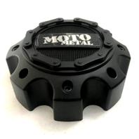 Moto Metal Satin Black 8Lug Center Cap fits MO971/MO972 Wheels P/N 1079L170MO2SB