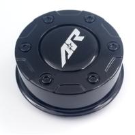 American Racing Gloss Black Center Caps for AR329 AR629 Wheels 1326106941